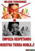 MILENE FERNADEZ ORURO SE RESPETA!!