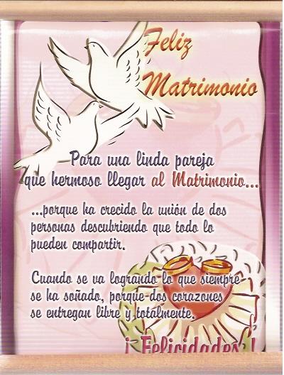 MATRIMONIO MENSAJE 3