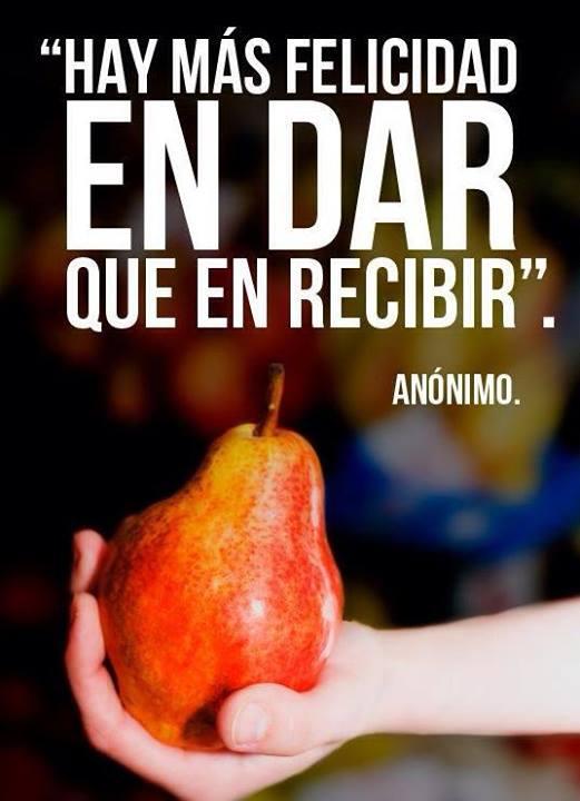 DAR Y RECIBIR