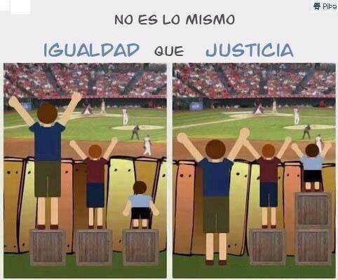 IGUALDAD O JUSTICIA