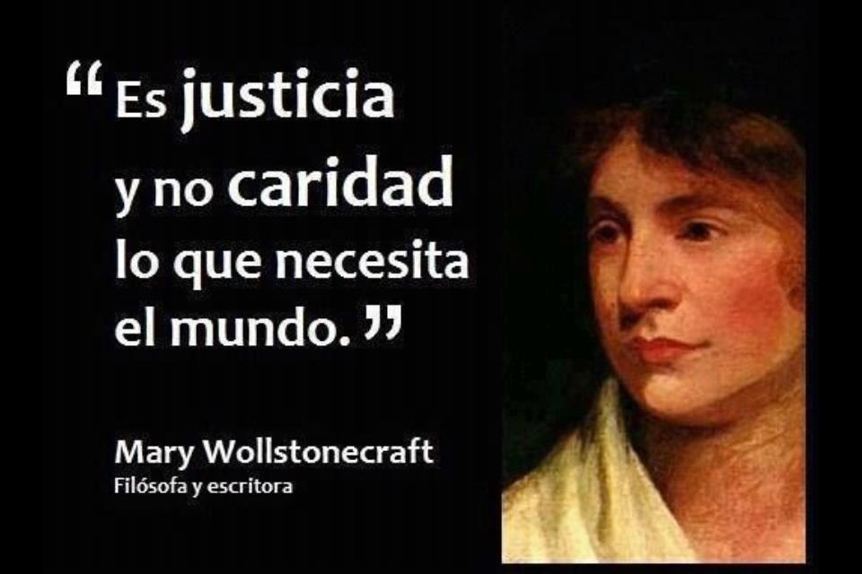ES JUSTICIA Y NO CARIDAD LO QUE NECESITA EL MUNDO