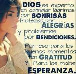 Gratitud y esperanza