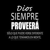 Dios proveerá