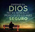 Dios es seguro