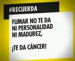 Fumar te da cancer