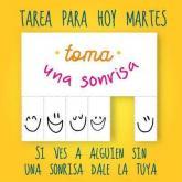 Toma una sonrrisa