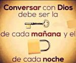 Conversar con dios