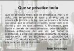 Que se privatice todo